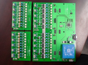 main board and daughter driver boards