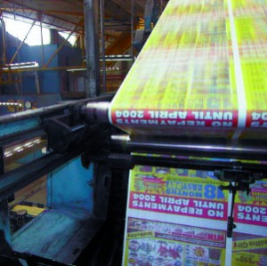 Goss Printing Press Color Registration